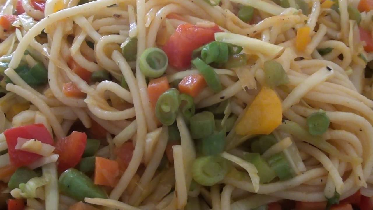 How to make chow mein recipe in hindi