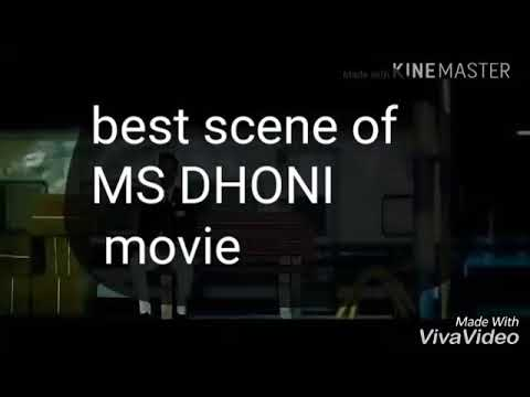 MS DHONI: best inspirational scene of the...