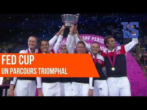 Retour sur le parcours triomphal des Françaises en Fed Cup