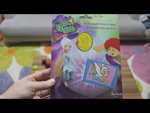 Disney Fairies Periwinkle Kum Boyama Seti Disney Periwinkle Niloya