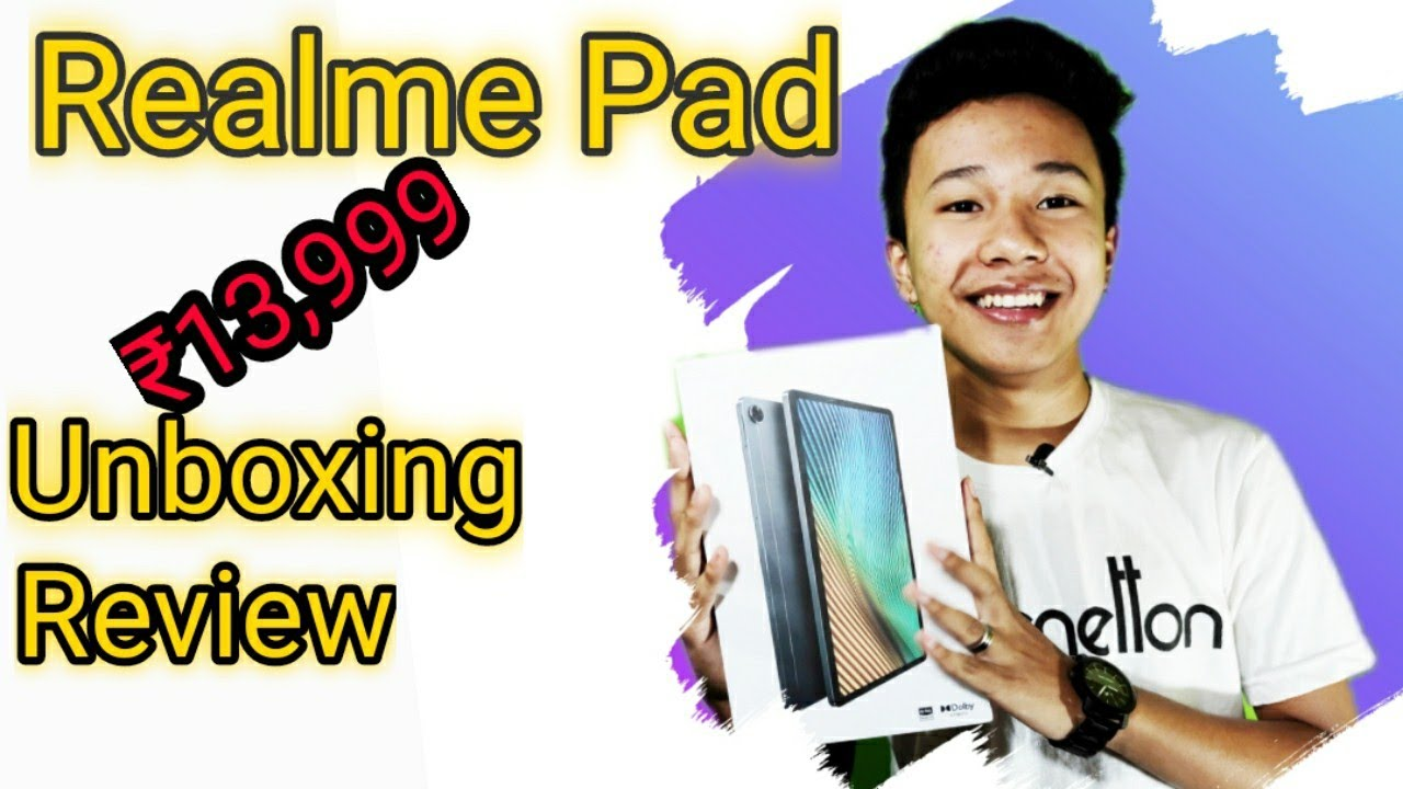 Download UNBOXING OF realme Pad 🔥🔥/cheapest pad for online class , studies,games😍🤩/massive battery 🔋