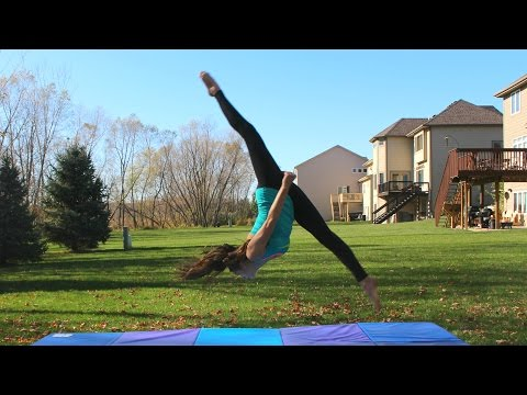 How to do a Front Aerial | Front Aerial Tutorial | TheCheernastics2