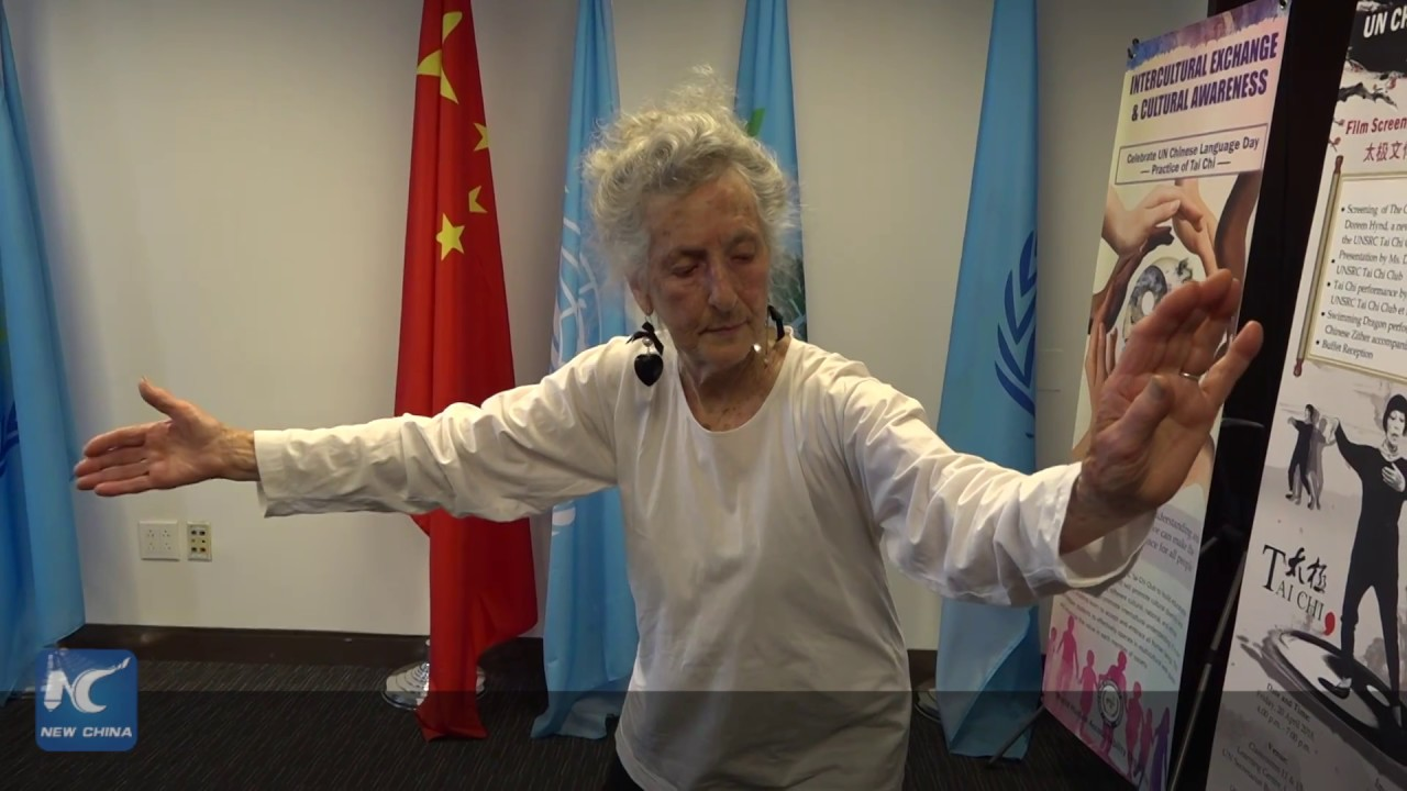 Tai Chi brings balanced life to 93-year-old woman in U S