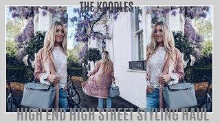HIGHEND HIGHSTREET STYLING HAUL | THE KOOPLES | IAM CHOUQUETTE