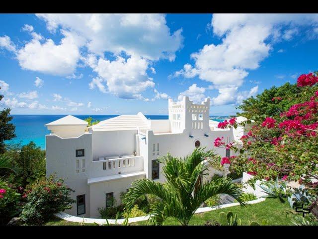 Caribbean luxury real estate, St Maarten, Pelican Key, Mediterranean style villa for sale