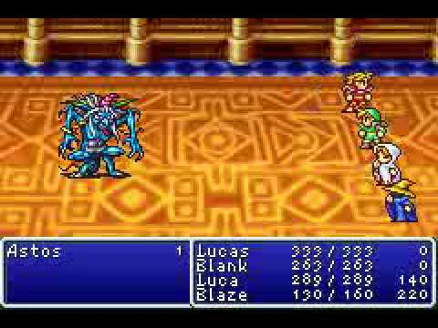 Final Fantasy 1 Boss 2 Astos YouTube