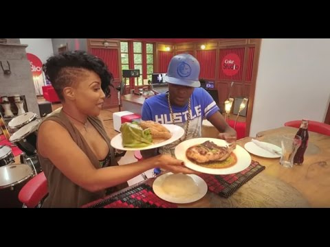 Neyma tastes luwombo from Uganda for the first time, watch her reaction