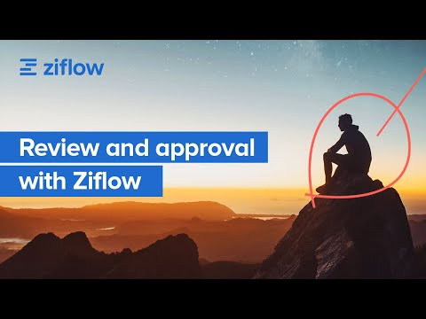 Reviewing creative content with Ziflow Online Proofing