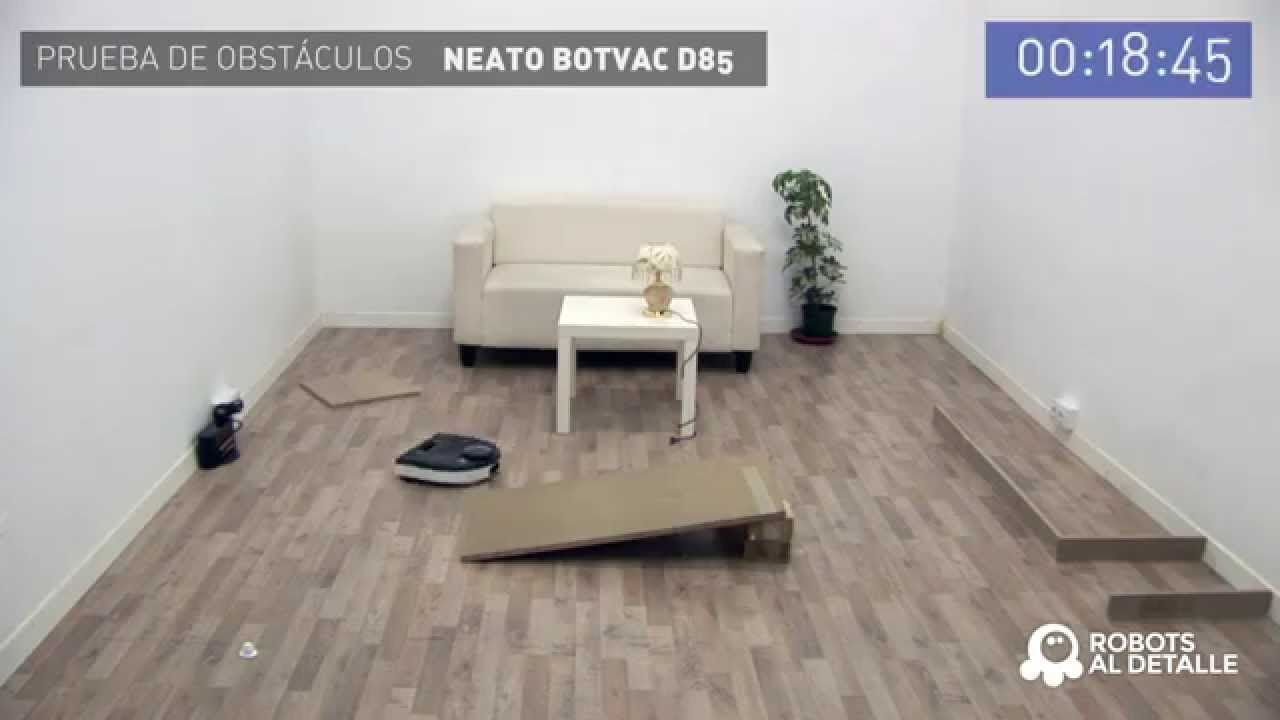 prueba de obst culos neato botvac d85 youtube. Black Bedroom Furniture Sets. Home Design Ideas
