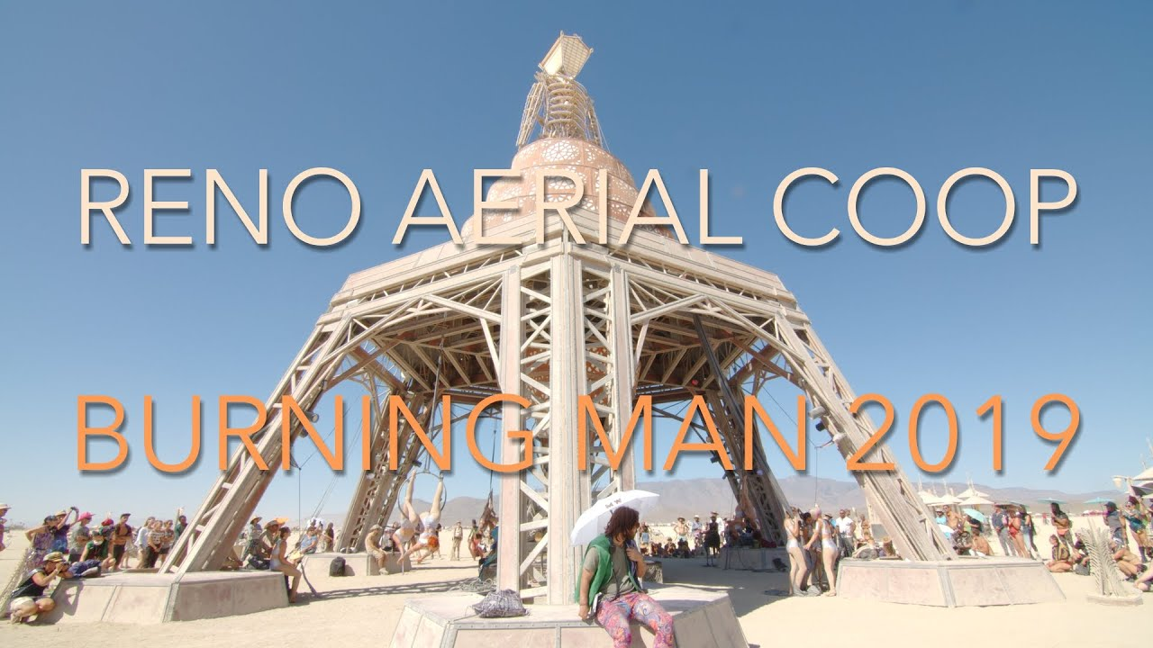 Evolution of a Burning Man village - a father and daughter