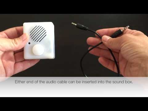Re-recordable Sound Box - EASY to RECORD from any device