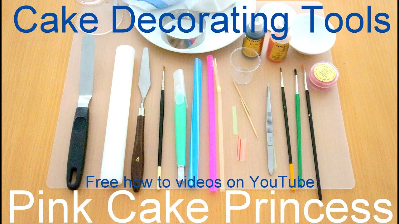 Cake Decorating Tools I Use For My How to Decorate