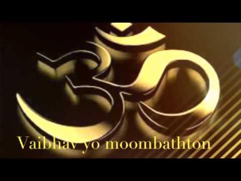 Vaibhav yo moombathton song om namah...