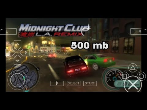 Midnight Club Los Angeles Remix Game Download PSP Highly Compressed || HD Gameplay || (Hindi)