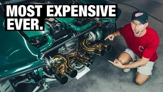 homepage tile video photo for 24k Gold Exhaust For the Twin Turbo Lamborghini Huracan!