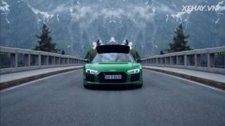 |XEHAY.VN| Siêu xe R8 V10 Spyder Plus - xe mạnh nhất nhà Audi
