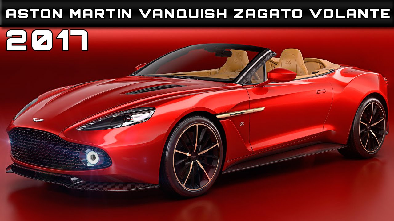 2017 aston martin vanquish zagato volante review rendered price specs. Cars Review. Best American Auto & Cars Review