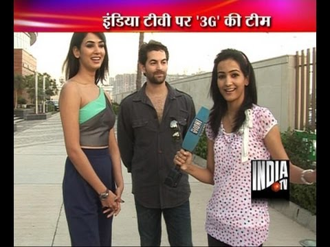 Exclusive interview of Neil Nitin and Sonal Chauhan for '3G'