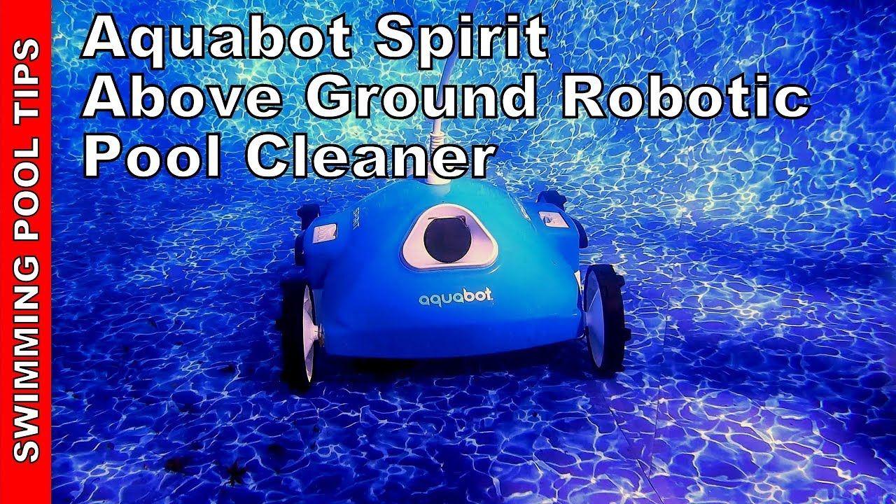 Aqaubot Spirit Above Ground Pool Robotic Pool Cleaner Review: Filters down  to an Amazing 2 Microns!