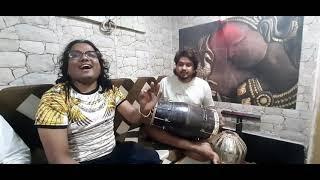 Sarthak shinde live dholak singing samarthak shinde khali dil nayo