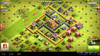 clash of clans 1 150 000 resources in 45 minutes