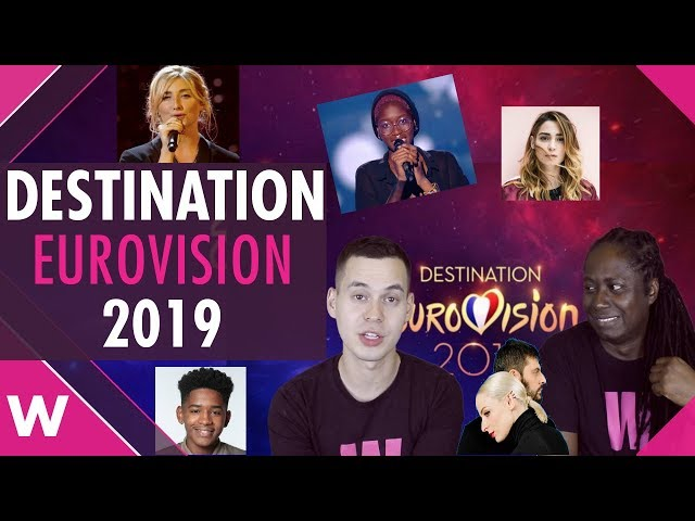 Destination Eurovision 2019 submissions open in France