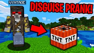 PRANKING AS ITEMS IN MINECRAFT! - Minecraft Trolling Video