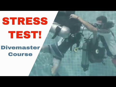 PADI Equipment Exchange Stress Test Divemaster Course