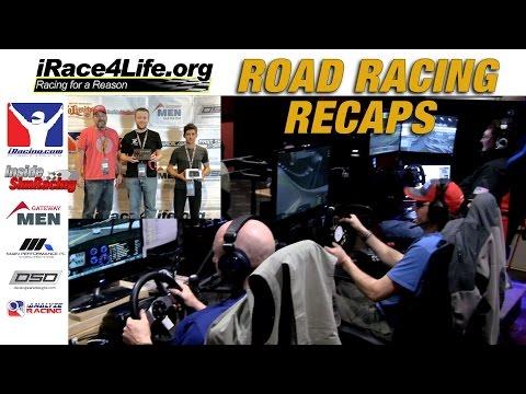 iRace4Life / iRacing 2015 Road Racing Tournament Recaps