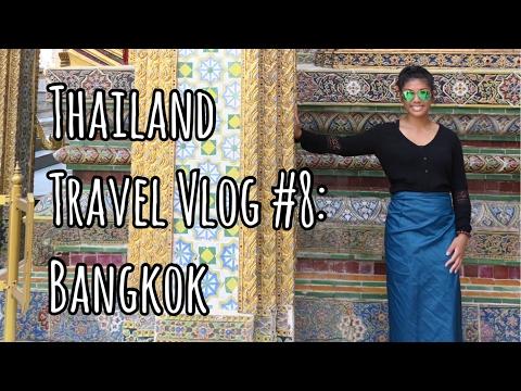 GIANT SWING, TEMPLE OF EMERALD BUDDHA, GRAND PALACE, WAT PHO | Bangkok, Thailand Travel Vlog