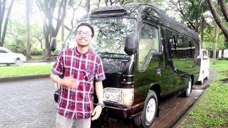 Review ISUZU ELF NKR55 LWB Produk Karoseri Hartono Putra