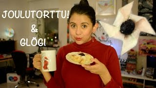 Finnish Joulutorttu And Glögi/ Christmas Pastry And Hot Drink! Finland