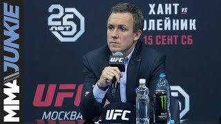 UFC Moscow: David Shaw full post-event interview