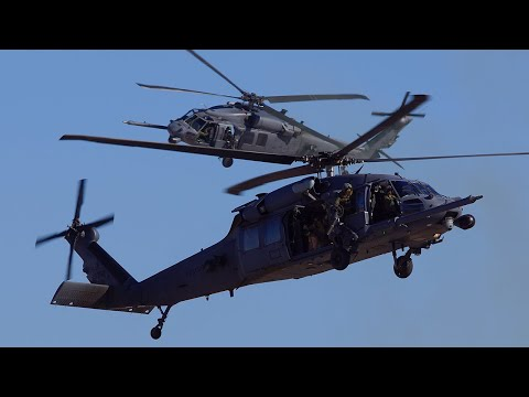 HH-60 CSAR Demo Aviation Nation 2014