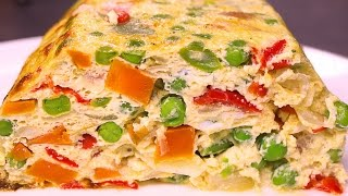 PASTEL DE VERDURAS AL HORNO - recetas de cocina faciles rapidas y economicas
