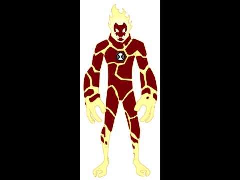 How to draw Heatblast from Ben 10 omniverse  YouTube