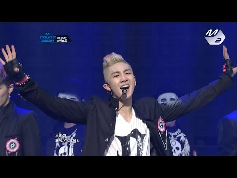 [Produce101 Season2 NU'EST]  NU'EST_FACE @ M COUNTDOWN Debut Stage 170317 EP.18