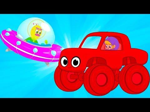 My Magic Pet Morphle - Racecar Alien Race   Educational Videos for Kids   Baby Cartoons