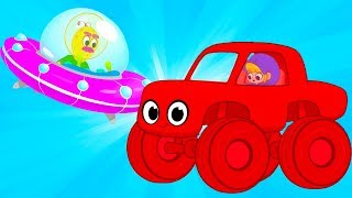 My Magic Pet Morphle - Racecar Alien Race | Educational Videos for Kids | Baby Cartoons