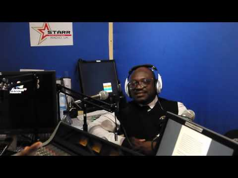 Lawyer Ansah on the STARR RADIO UK  PERSONALITY PROFILE SHOW with Marie