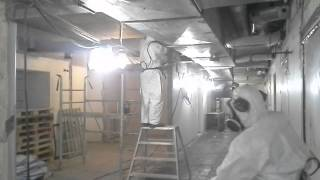 Asbestos removal in Sweden Norrlands Universitets Sjukhus Umeå