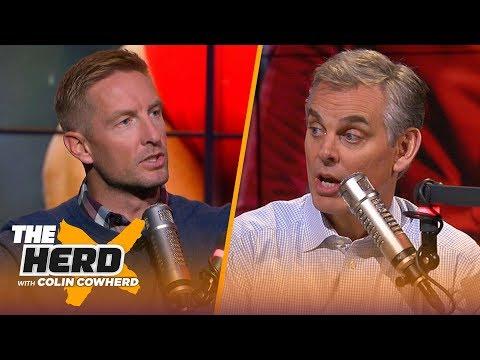 Joel Klatt discusses if Utah deserves final CFP spot, Harbaugh's future at Michigan | CFB | THE HERD