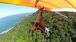 Amazing Hang Gliding in Rio de Janeiro!