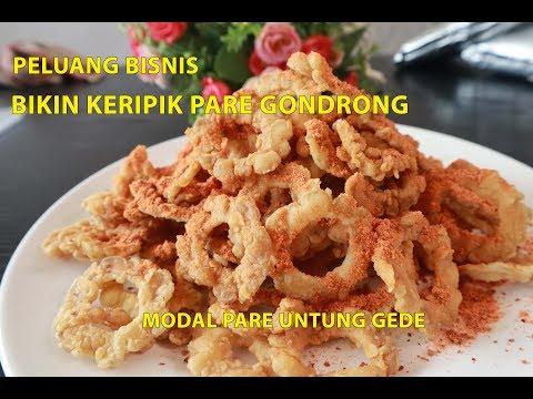 Resep Keripik Pare Gondrong Garing & Gak Pahit
