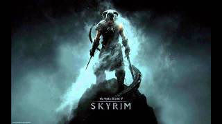 TES V Skyrim Main theme - OST soundtrack - DRAGONBORN [HD]