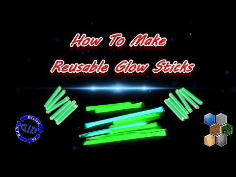 Make Reusable Glow Sticks