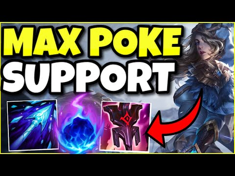 (DOUBLE COMETS?!) THE MAXIMUM POKE ASHE SUPPORT IS ABSOLUTELY UNBEATABLE IN LANE – League of Legends