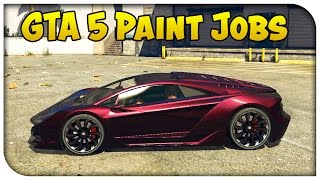 GTA 5 Online - TOUCH UP TUESDAY! (Metallic Rose, Infernoe, Nismo Orange & More) [Cool Paint Jobs]