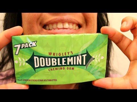 ASMR Chewing Wrigley
