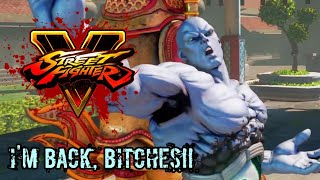 HE'S BACK?!?! - Street Fighter V: Champion Edition Seth Gameplay Trailer REACTION!!!